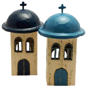 Greek Ceramic Church